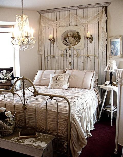 Black And White Shabby Chic Bedroom Ideas - farmhouse bedroom ideas