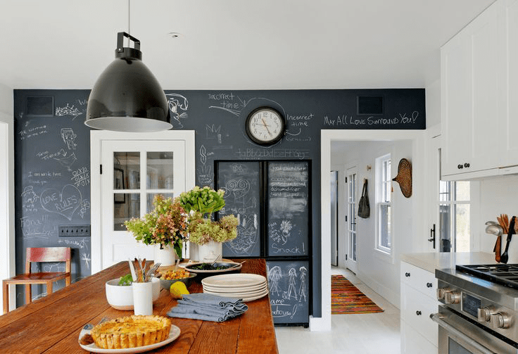 Farmhouse With Mid Century Modern Furniture And Industrial