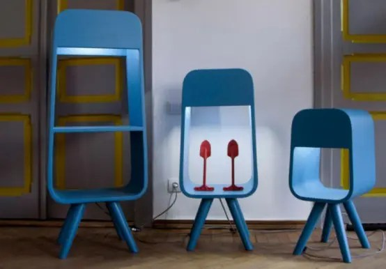 Funny And Functional Shelves And Lamps In One Digsdigs