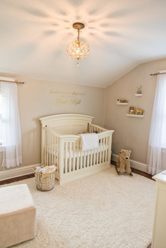 Toddler Girl Bedroom Wallpaper 34 Gender Neutral Nursery Design Ideas That Excite Digsdigs