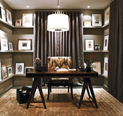 70 Gorgeous Home Office Design Inspirations - DigsDigs