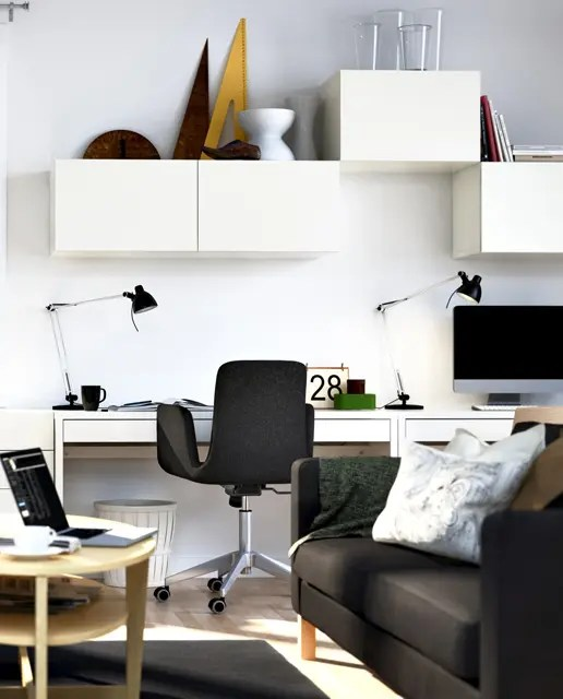 Extraordinary 90+ Small Home Office Design Decorating Design Of - living room office ideas