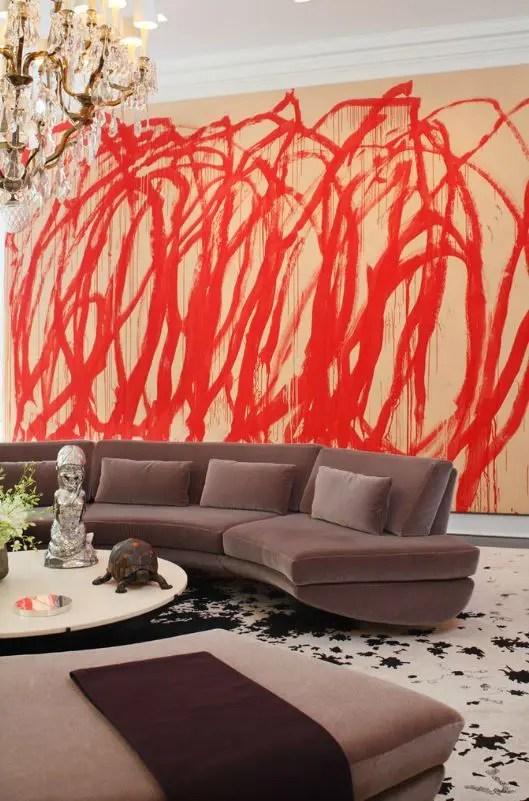 Black 3d Brick Wallpaper 26 Daring Graffiti Statement Interior Wall Ideas Digsdigs
