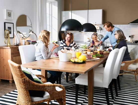 IKEA 2010 Dining Room and Kitchen Designs Ideas and Furniture - DigsDigs