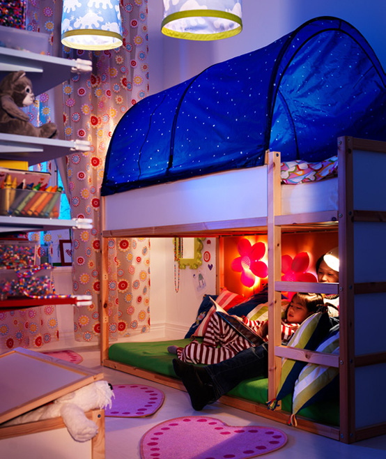 IKEA 2010 Teen and Kids Room Design Ideas