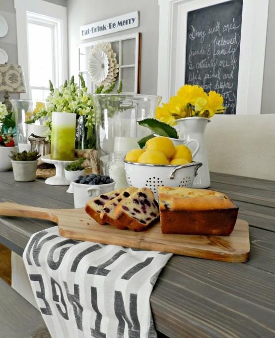 39 Inspiring Spring Kitchen Décor Ideas - DigsDigs - decorating ideas for kitchen