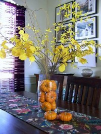 18 Leaf Centerpieces For Fall And Thanksgiving Dcor ...