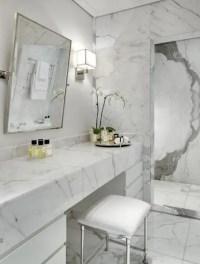 48 Luxurious Marble Bathroom Designs