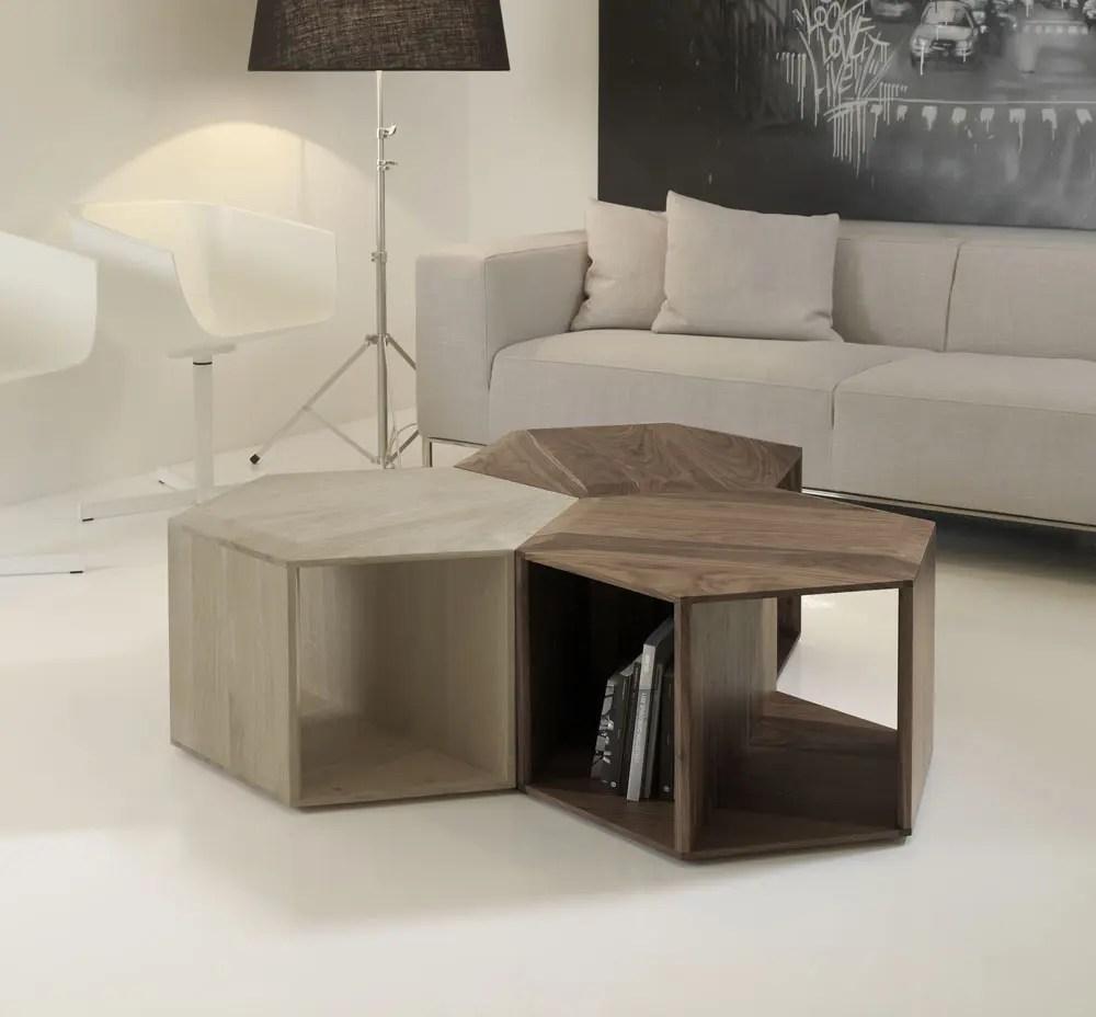 Minimalist And Functional HEXA Coffee Table