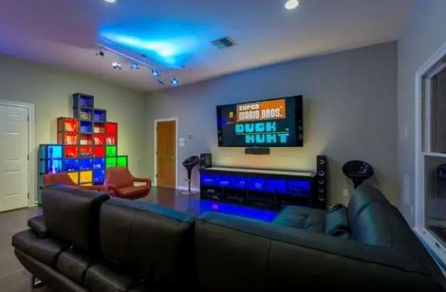 3d Wallpaper Pool Table Creating A Basement Game Room 4 Tips And 26 Examples
