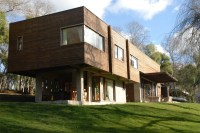 Modern Wood House Design  M + M2 House | DigsDigs