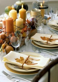 34 Natural Thanksgiving Table Settings - DigsDigs