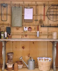 33 Practical Garden Shed Storage Ideas - DigsDigs