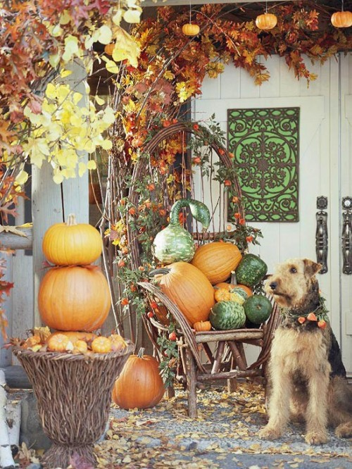 Cute Rustic Fall Wallpapers For Laptop 85 Pretty Autumn Porch D 233 Cor Ideas Digsdigs