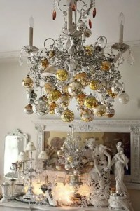 44 Refined Gold And White Christmas Dcor Ideas - DigsDigs