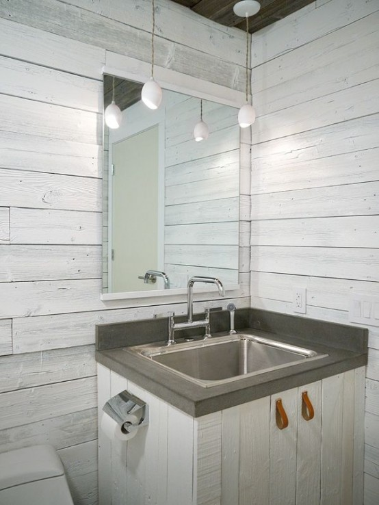 3d Wallpaper Decorating Ideas 34 Relaxed White Wash Wood Walls Designs Digsdigs