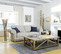 37 Sea and Beach Inspired Living Rooms | DigsDigs