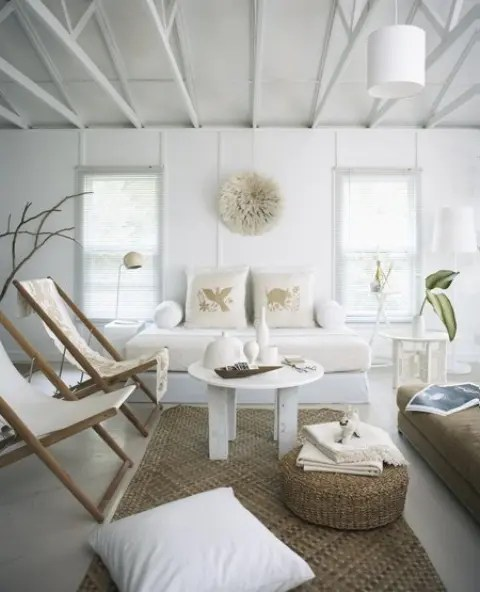 37 Sea and Beach Inspired Living Rooms - DigsDigs - beach house living room