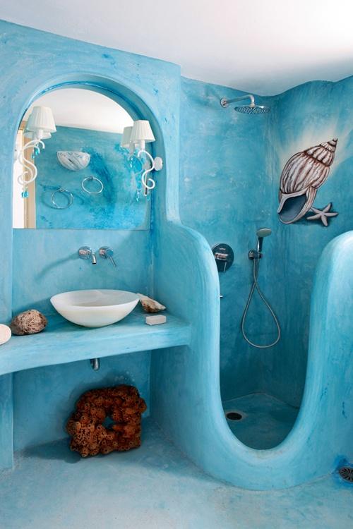44 Sea-Inspired Bathroom Décor Ideas - DigsDigs - bathroom themes ideas