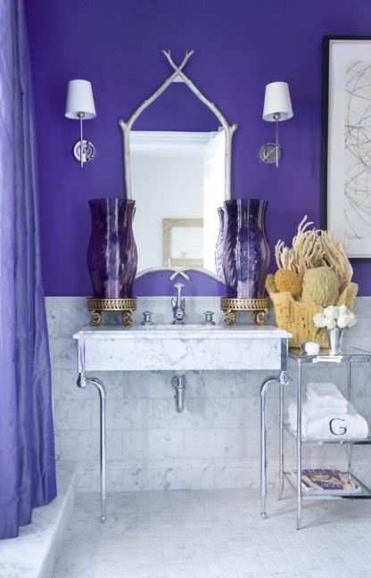 Purple And Black Bedroom Wallpaper 44 Sea Inspired Bathroom D 233 Cor Ideas Digsdigs