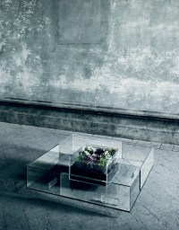 Spectacular Seasons All-Glass Coffee Table | DigsDigs