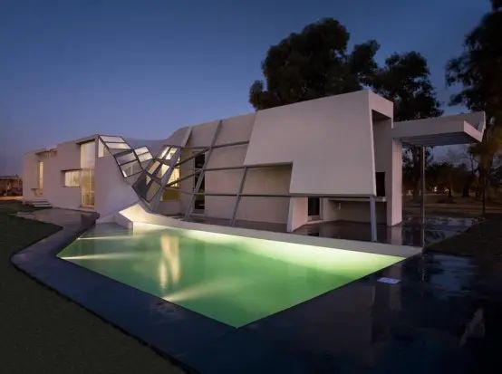 very strange and unusual house design u2013 fyf residence by p