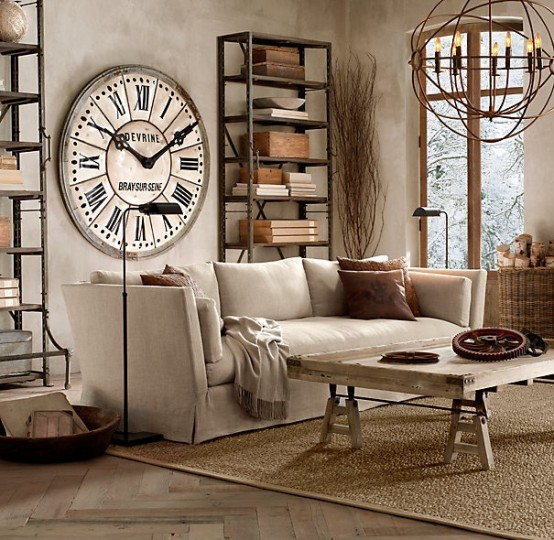 Industrial Living Room Ideas - Home Design - industrial living room ideas