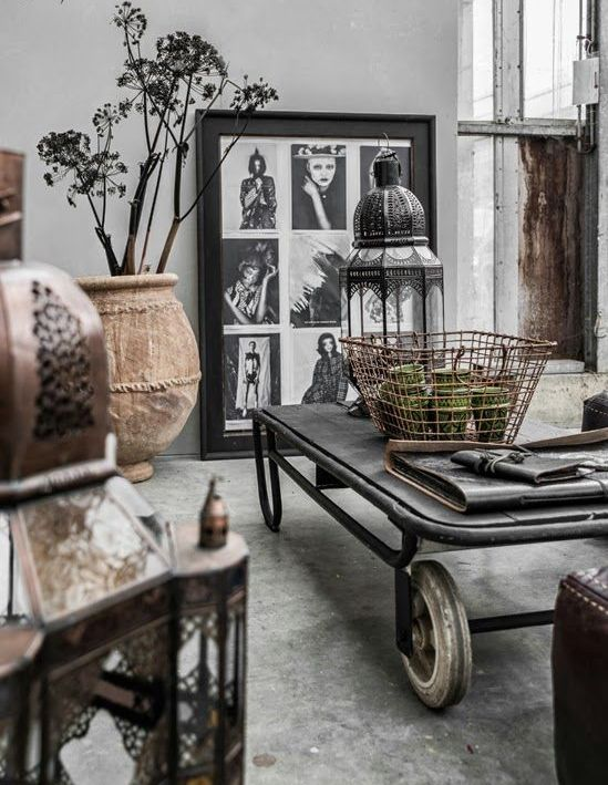 30 Stylish And Inspiring Industrial Living Room Designs - DigsDigs - industrial living room ideas