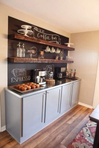 43 Stylish Home Coffee Stations To Get Inspired