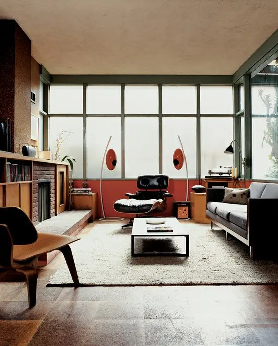 79 Stylish Mid-Century Living Room Design Ideas - DigsDigs - mid century modern living room