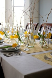 61 Stylish And Inspirig Spring Table Decoration Ideas ...