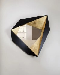26 Unique Modern Mirrors That Completely Change The Space ...
