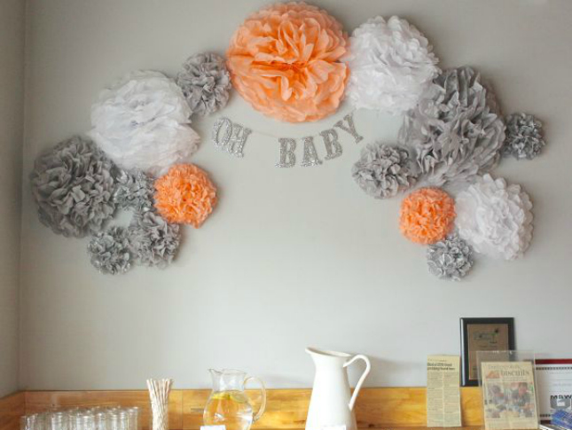 Baby Shower Wall Decorations Ideas - Elitflat