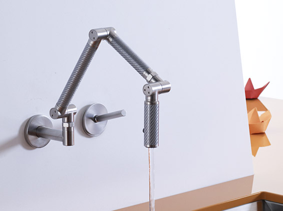 Wall-Mount Kitchen Faucet by Kohler - DigsDigs - wall mount kitchen faucet
