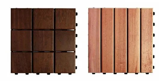 Wooden Modular Flooring For Outdoor Areas Larideck By