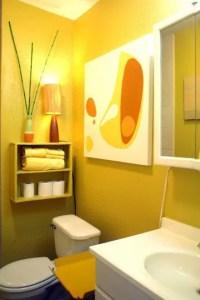 37 Sunny Yellow Bathroom Design Ideas - DigsDigs