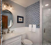 Board and Batten Beach Bathroom Ideas for Traditional ...