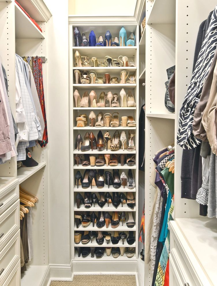 Small Walk In Closet Storage Ideas Ikea Decor Ideas for Shoes Organizer for Traditional Closet and Clothes Storage | Home Design ...