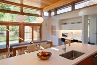 Kitchens with Clerestory Windows for Modern Kitchen and