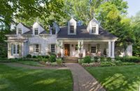Whitewash Brick Exterior Traditional for Contemporary ...