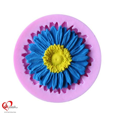 Sunflower Shape 3D Silicone cake mold tools soap chocolate mould for the kitchen baking clay mold D081