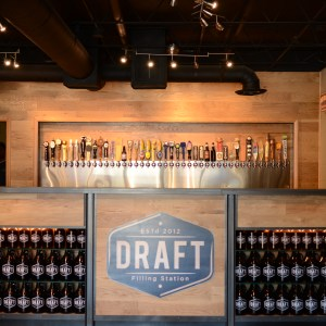 Bar at Draft Filling Station