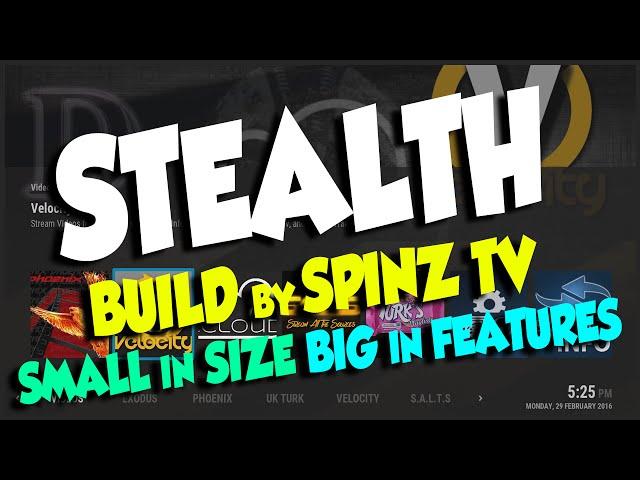 Spinz Tv Best Build