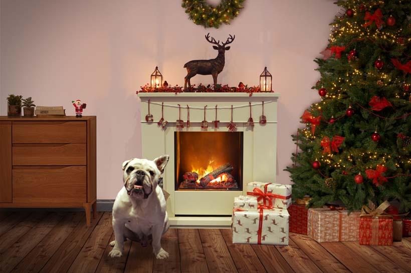 Christmas Mantle Arniejpg Dimplex
