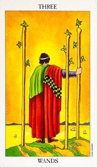 3 of wands image