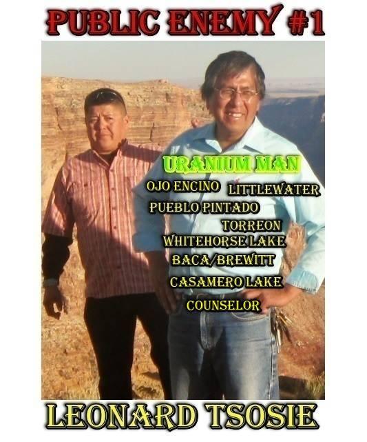 Photo of Navajo Council Delegate Leonard Tsosie courtesy of Grade your Council Delegate FB site.