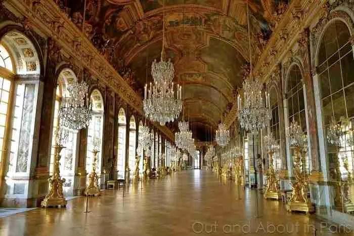 Παλάτι των Βερσαλλιών, η Γαλλία