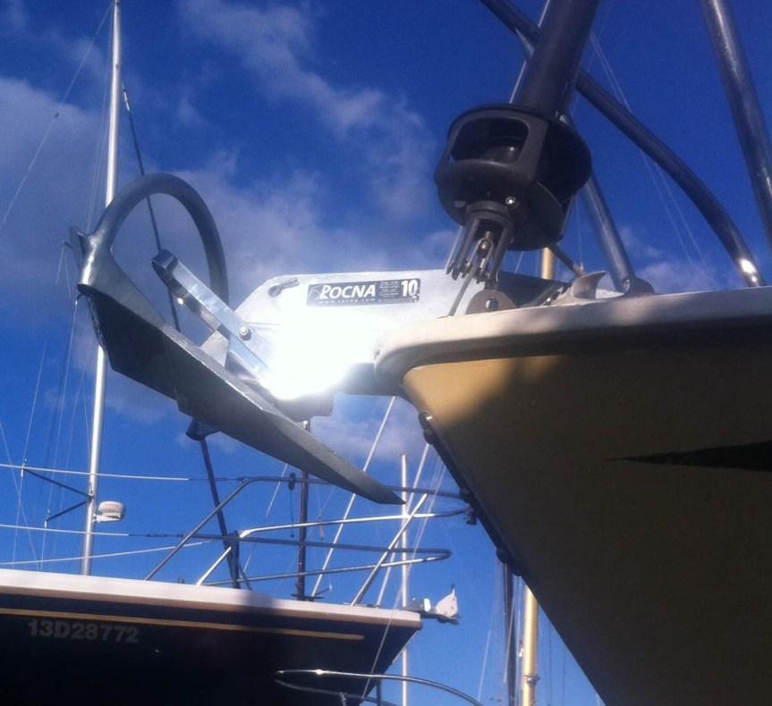 rocna anchor, rock solid, installing a rocna