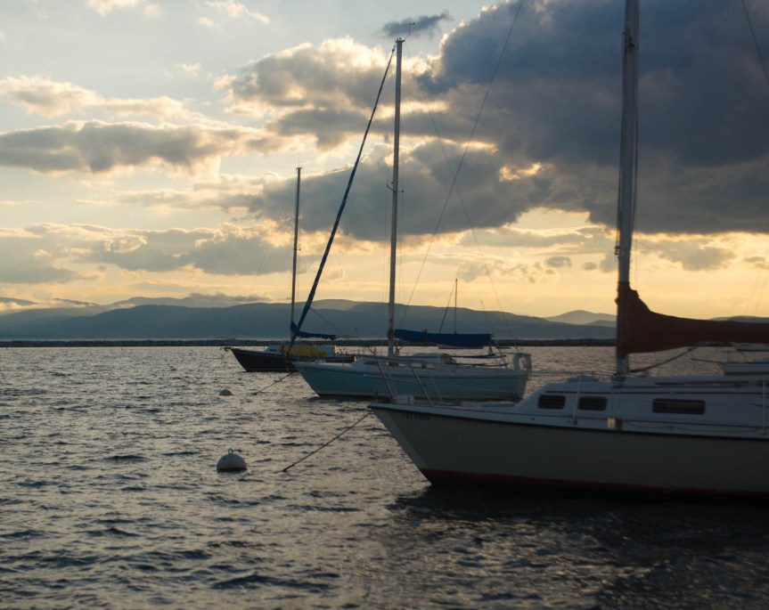live aboard sailor girl, lake champlain, bristol 24