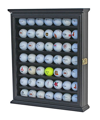 49 Golf Ball Display Case Cabinet Wall Rack Holder W 98